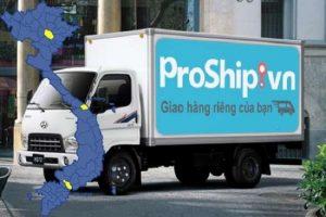 Proship mang đến cho khách hàng dịch vụ thuê chuyển hàng uy tín