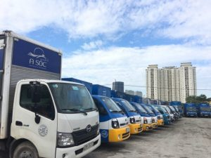 A Sóc đơn vị cung cấp dịch vụ cho thuê xe tải Hà Nội