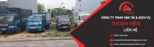dịch vụ chuyển nhà Thuận Hiền
