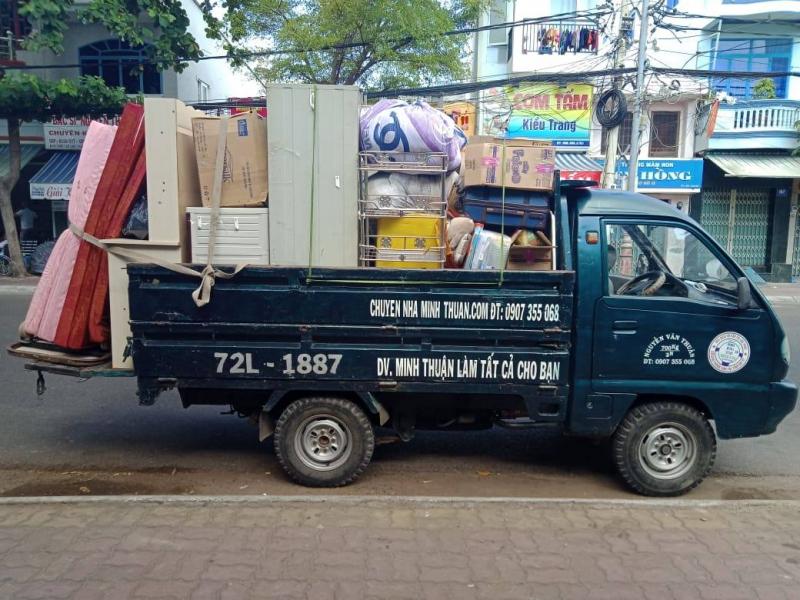 Dịch vụ chuyển nhà trọn gói Minh Thuận