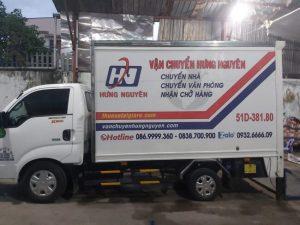 Công ty cho thuê xe tải chở hàng TPHCM Hưng Nguyên