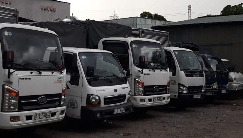 xe tải đa kích thước