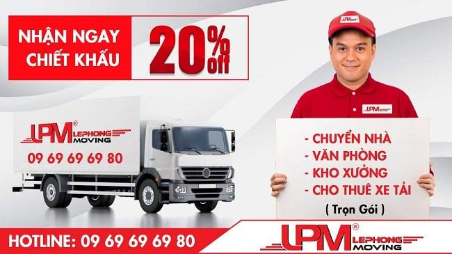 Taxi Tải LPM đơn vị cung cấp dịch vụ chuyển văn phòng uy tín, giá rẻ