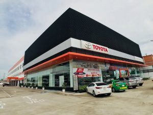 Hình ảnh showroom Toyota An Thành Fukushima
