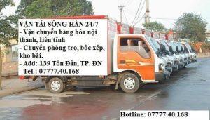 chuyển nhà tại Đà Nẵng vận tải Sông Hàn