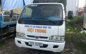 Vận Tải Việt Trung - cho thuê xe chở hàng Hà Nội