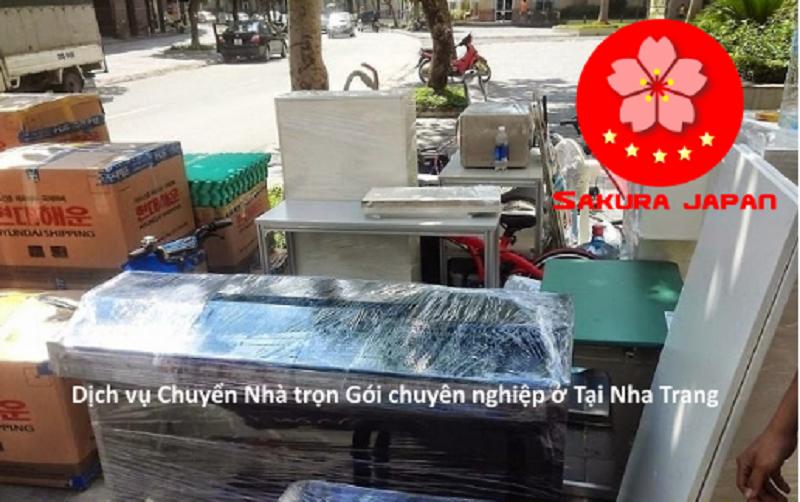 Sakura chuyển nhà Nha Trang trọn gói, giá rẻ