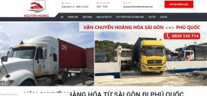 chành xe đi Phú Quốc - vận tải Phước Hoàng