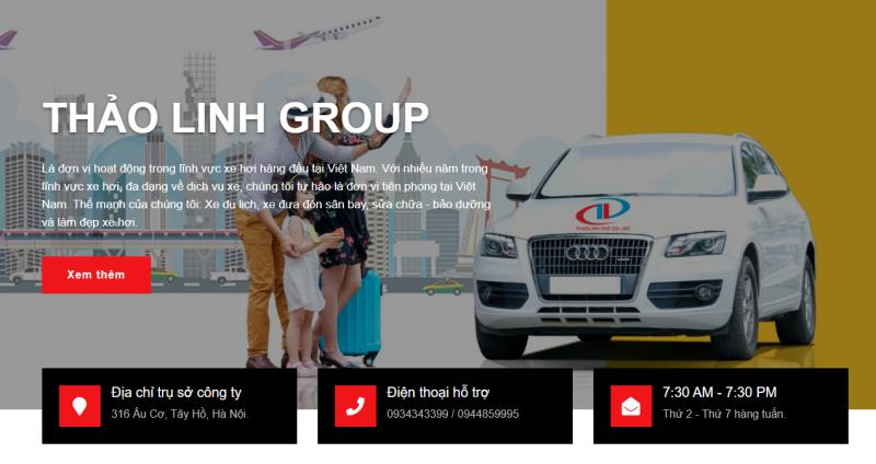 Thảo Linh - Đơn vị cho thuê xe ô tô tự lái tại Hà Nội