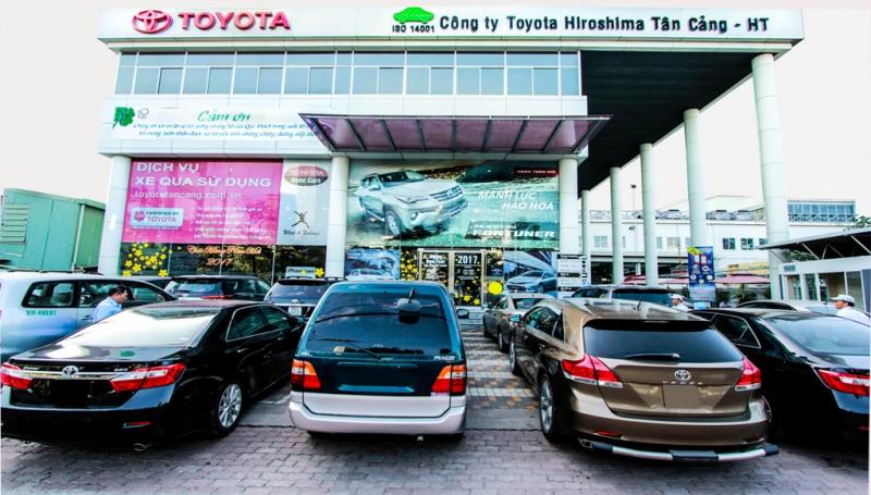 Đại lý Toyota Sure Hiroshima Tân Cảng