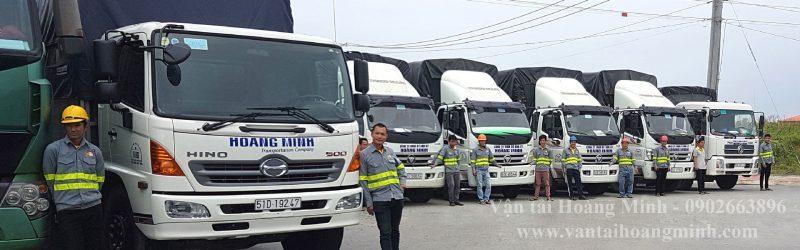 Hoàng Minh - đơn vị cho thuê xe tải chở hàng uy tín