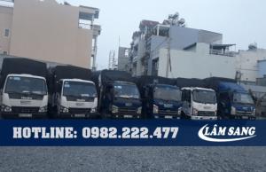 xe tải chở thuê trọn gói cần thơ Lâm Sang