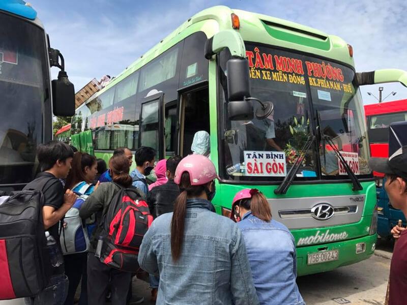 Tâm Minh Phương - nhà xe Huế đi Gài Gòn