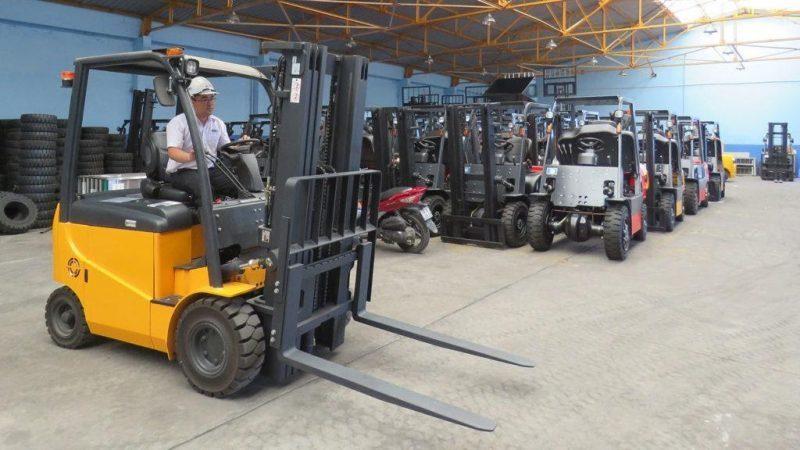 vận tải Đường Việt - cho thuê xe nâng tại Hà Nội