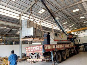 chuyển nhà xưởng trọn gói Saigon Moving 24h