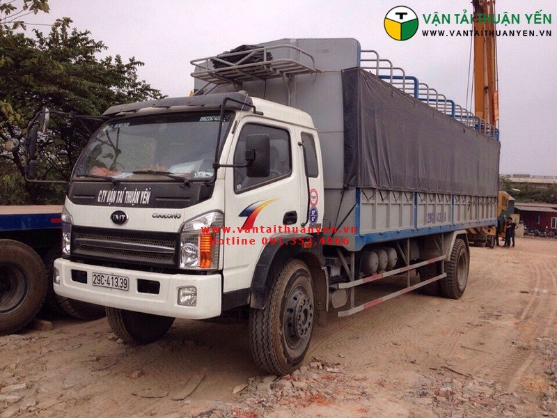 vận tải hàng hóa đường bộ Thuận Yến