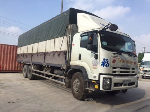xe tải tại chành xe Nam Hoa Phú