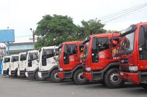 Công ty Á Đông không ngừng đổi mới, nâng cấp đội xe vận chuyển
