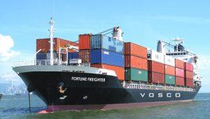 vận tải hàng hóa bằng đường biển Vosco