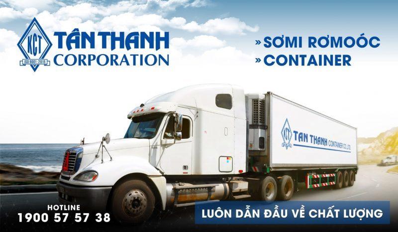 Tân Thành đơn vị cung cấp dịch vụ xe container chở hàng uy tín