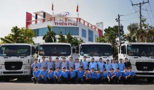 vận chuyển hàng hoá Thiên Phú