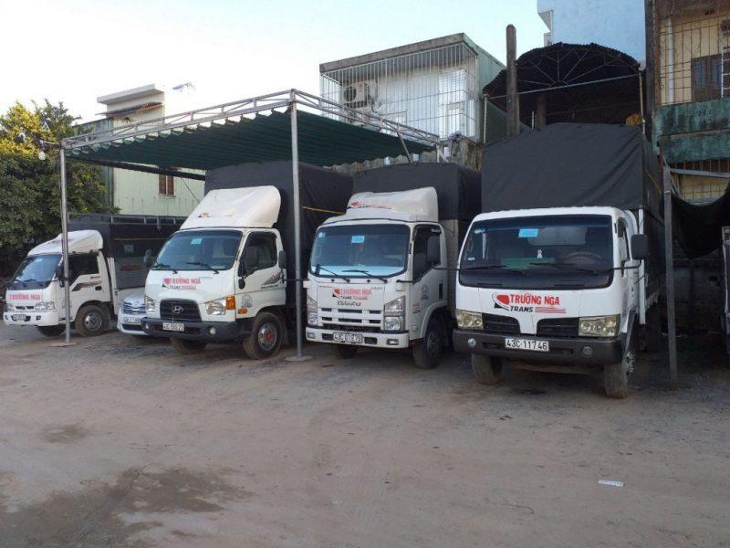 xe vận chuyển Đà Nẵng giá rẻ Trường Nga - hình ảnh từ website vantaitruongnga.com