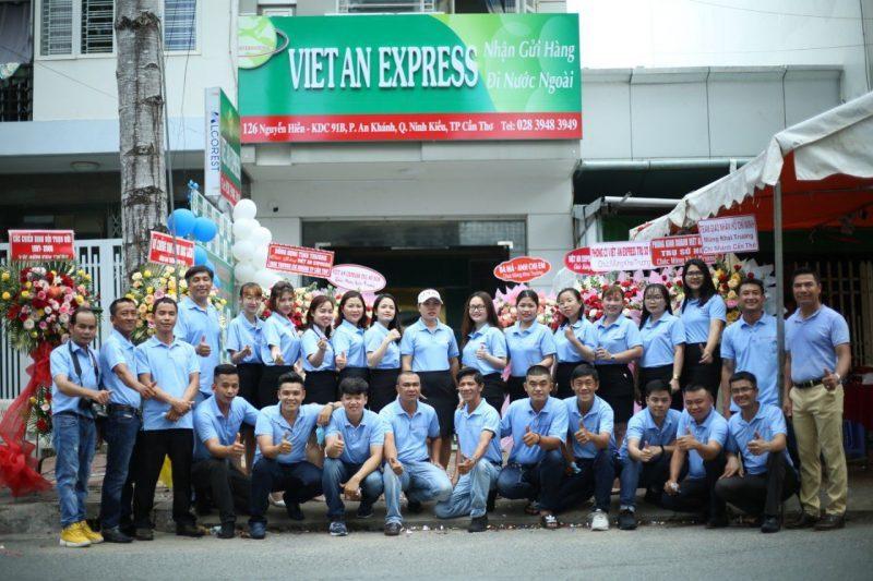 gửi hàng quốc tế tại Việt An Express