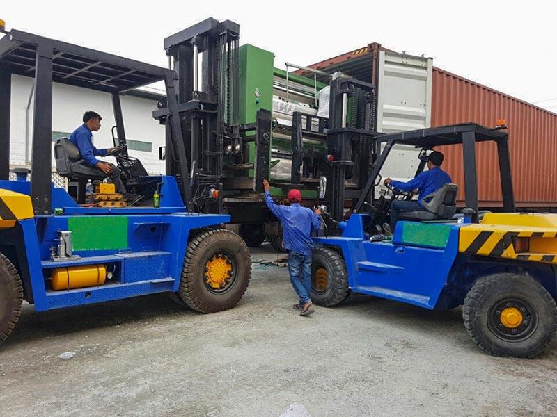 Tú Sơn cho thuê xe nâng tại Hà Nội uy tín