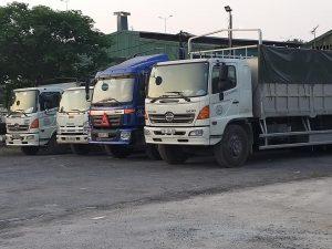 chành xe gửi hàng bằng xe tải