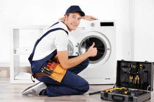 chuẩn bị các dụng tháo lắp máy giặt