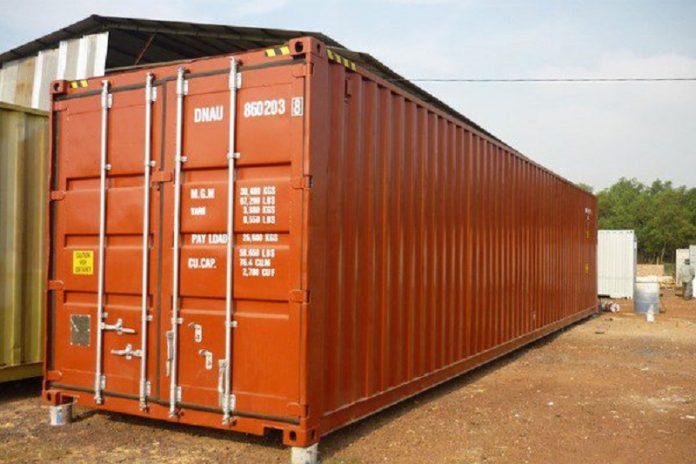 container 40 feet chở được bao nhiêu tấn