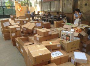 cách đóng gói gửi hàng bưu điện