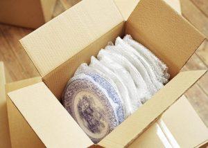 đóng gói các sản phẩm gốm sứ, hàng dễ vỡ