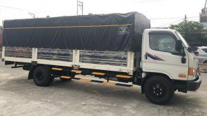 kích thước của xe tải 8 tấn