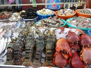 nên lựa chọn hải sản còn tươi sống