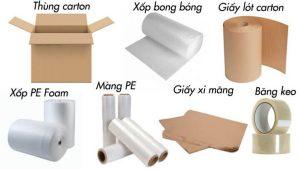 lựa chọn các vật liệu đóng gói phù hợp