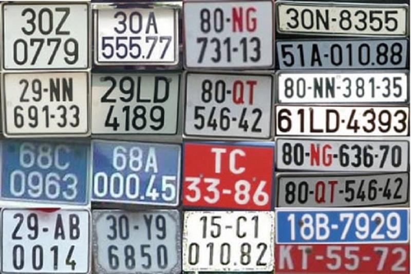 phân loại biển số xe máy hiện nay