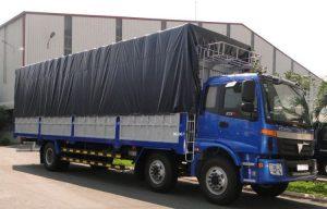 loại xe tải có kích thước 10 tấn
