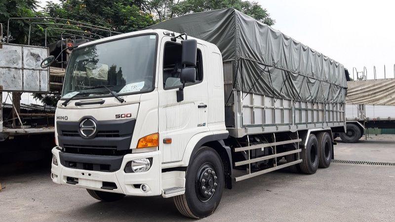 xe tải có kích thước 15 tấn