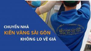 chuyển nhà Quận 7 công ty Kiến Vàng Sài Gòn