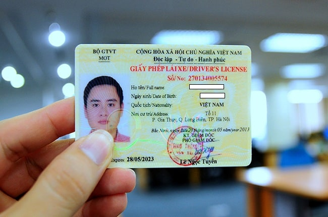 thủ tục đổi giấy phép lái xe tại tphcm