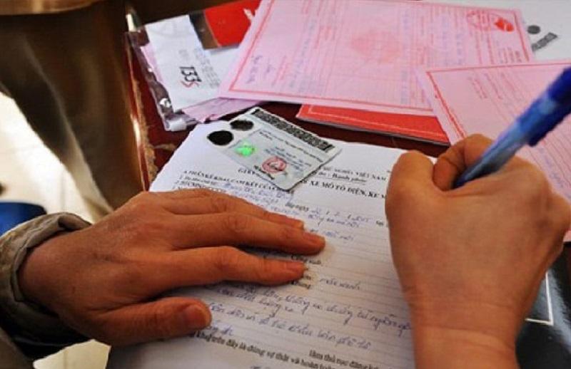 chuẩn bị đầy đủ giấy tờ đăng ký biển xe đạp