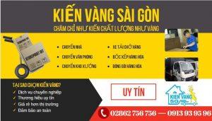 công ty chuyển nhà Kiến Vàng Sài Gòn
