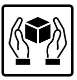 ký hiệu hàng hóa khiêng bằng tay