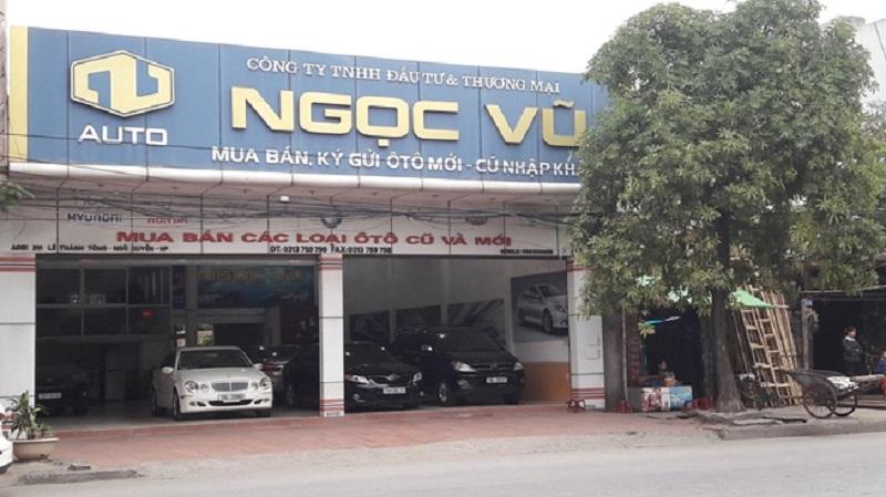 Ngọc Vũ - địa chỉ bán xe oto cũ Hải Phòng uy tín