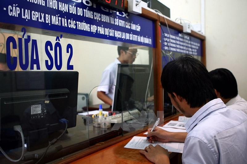 đăng ký đổi giấy phép lái xe qua mạng tại tphcm