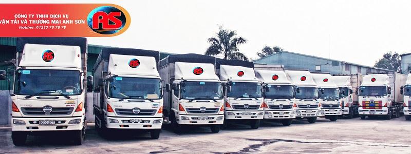 công ty vận tải Anh Sơn - hình ảnh từ website anhson.com.vn