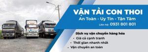 công ty vận tải Con Thoi