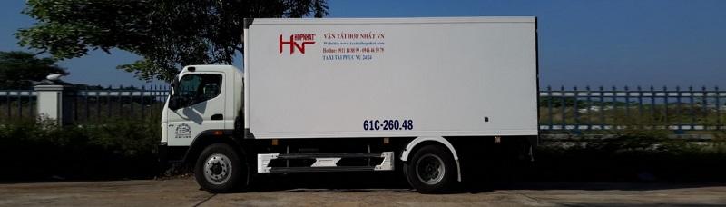 công ty vận tải Hợp Nhất - hình ảnh từ website hopnhatvietnam.com