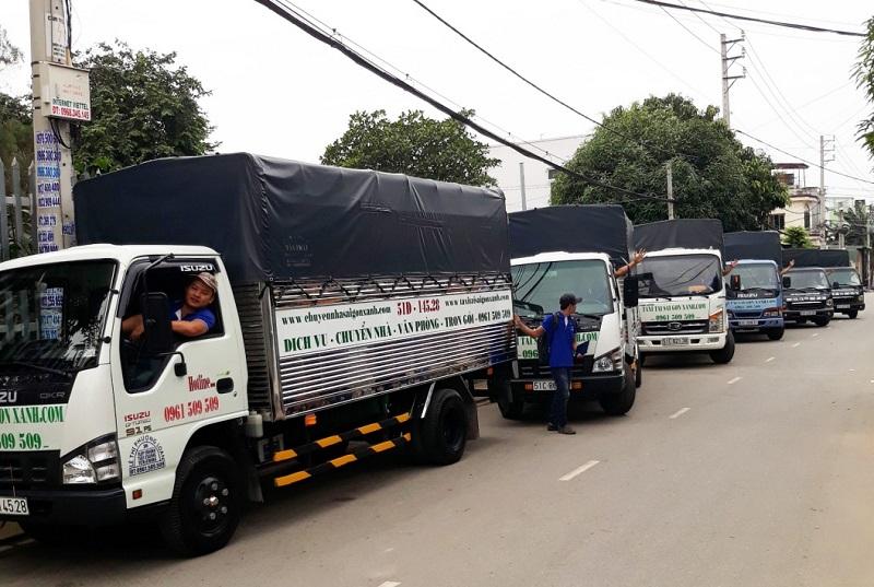 công ty vận tải xanh Sài Gòn